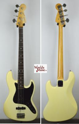 FENDER Squier Jazz Bass 62 White 1985 Japon serie A  *OCCASION*