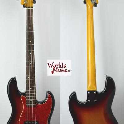 VENDUE... FENDER Jazz Bass 62'-US 3TS 1997 japon Import  *OCCASION*