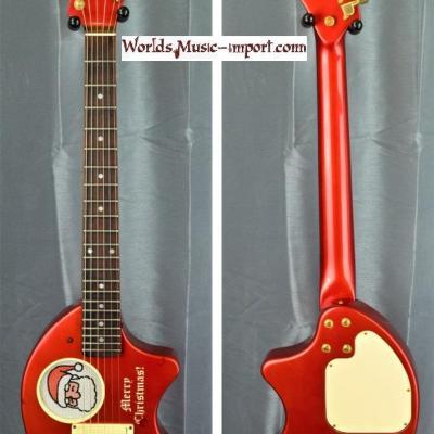 VENDUE... FERNANDES Mini-guitare ZO-3 Père Noël Rouge 'RARE'  japan import *OCCASION*