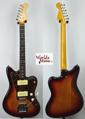 VENDUE... FENDER Jazz Master JM66 SB 2010 Japon Import *OCCASION*