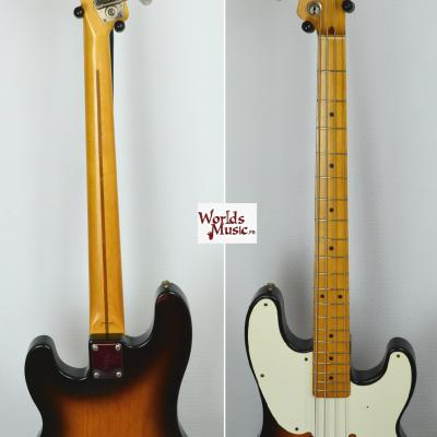 VENDUE... FENDER OPB-54 Sunburst Bass Tele 1990 Japan RARE *OCCASION*