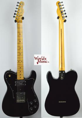 VENDUE... FENDER Telecaster 72' CUSTOM BK 1993 JAPON Import *OCCASION*