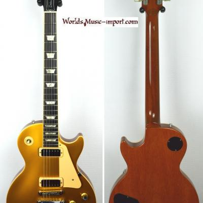 VENDUE... GIBSON Les Paul Deluxe Goldtop 'Limited' 2000 import *OCCASION*