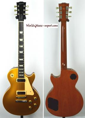 GIBSON Les Paul Deluxe Goldtop 'Limited' 2000 import *OCCASION*