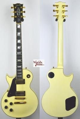 VENDUE... GIBSON Les Paul CUSTOM LH Gaucher White 1993 USA *OCCASION*