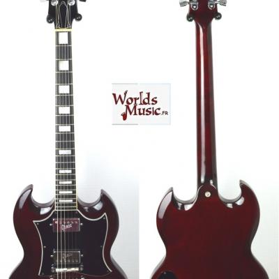 VENDUE... GRECO SG Aged Cherry 1973 Japon Import SS600 *OCCASION*