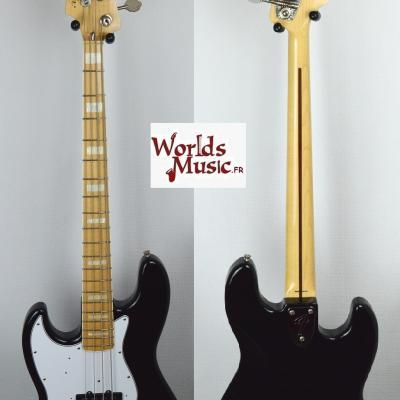 VENDUE... FENDER Jazz Bass '75 LH BK 2010 Gaucher JAPON Rare Import *OCCASION*