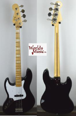 VENDUE... FENDER Jazz Bass '75 LH BK 2010 Gaucher JAPON Rare Import *OCCASION*