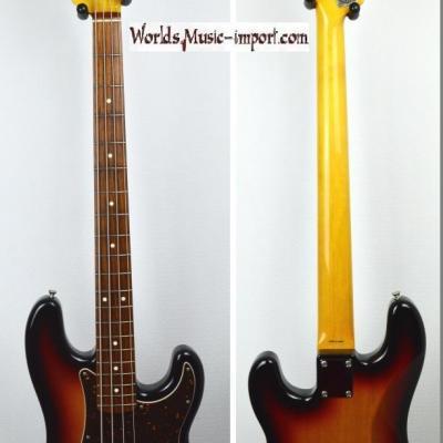 VENDUE... FENDER Precision Bass '62-US 3TS 2010 Japon import *OCCASION*