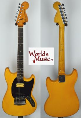 VENDUE... FENDER Mustang USA White 1978 Import *OCCASION*