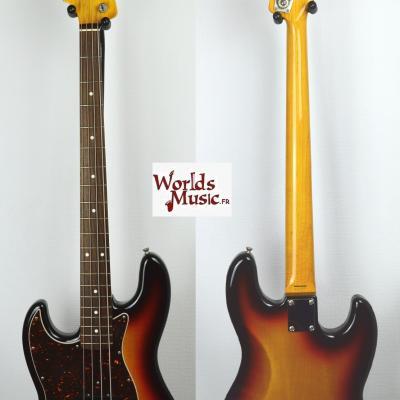 VENDUE... FENDER Jazz Bass 62' LH 3TS Gaucher 2010 Japan   *OCCASION*