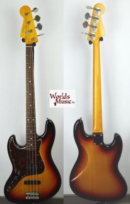VENDUE... FENDER Jazz Bass 62' LH 3TS Gaucher 2010 Japan   *OCCASION*