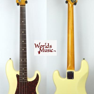 VENDUE... FENDER Precision Bass PB'62 JV White 1983 Japon *OCCASION*