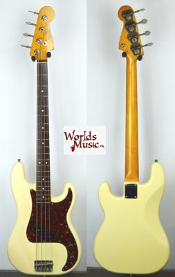 VENDUE... FENDER Precision Bass PB'62 JV White 1983 Japon *OCCASION*