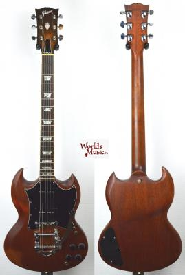 VENDUE... GIBSON SG Standard Bigsby 1986 Natural US Import! *OCCASION*