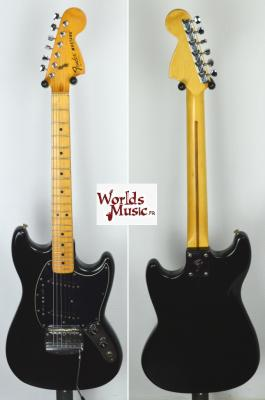 FENDER Mustang USA Black 1978 Import *OCCASION*