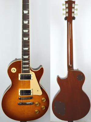 VENDUE... GIBSON Les Paul Standard 1997 Honey Burst Flamed USA Import *OCCASION*