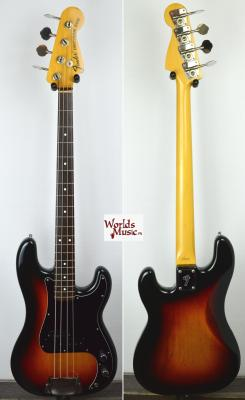 VENDUE... FENDER Precision Bass 70' SB 1989 ASH Rare Japon! *OCCASION*