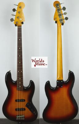 VENDUE... FENDER Jazz Bass 62'FL 3TS 1993 Fretless Japon  *OCCASION*