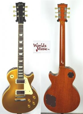 VENDUE... GIBSON Les Paul Standard GOLDTOP 1998 Limited Edition import *OCCASION*