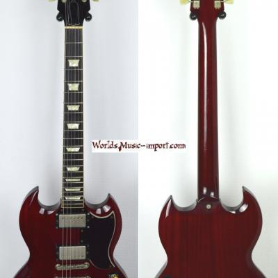VENDUE.. ORVILLE by Gibson SG '61 cherry 1989 japon import *OCCASION*