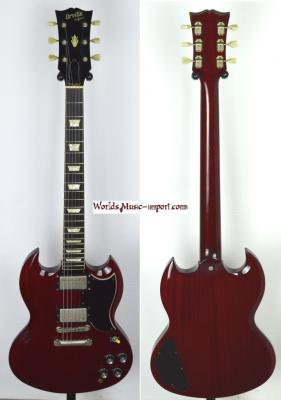 VENDUE... ORVILLE by Gibson SG '61 cherry 1998 japon import *OCCASION*