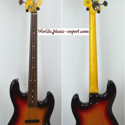 VENDUE... FENDER Jazz Bass 62'US FL 3TS 2000 FRETLESS Japon Import   *OCCASION*