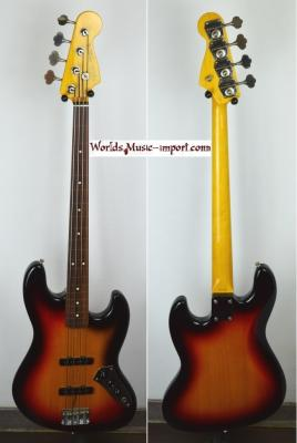 VENDUE... FENDER Jazz Bass 62'US FL 3TS 2000 FRETLESS Japon Import   *OCCASION*