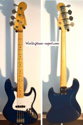VENDUE... FENDER Jazz Bass '62 TRB 'Trans Blu LTD' RARE 1999 Japon  *OCCASION*