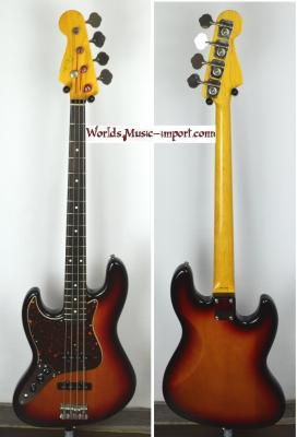FENDER Jazz Bass 62'LH Gaucher 3TS 2008 Japon   *OCCASION*