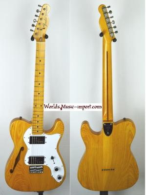 VENDUE... FENDER Telecaster thinline JV 1983 ASH Natural Japon *OCCASION*