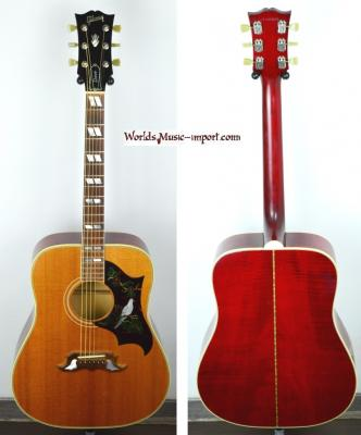 VENDUE... GIBSON Folk DOVE Antique Cherry 1991 USA import *OCCASION*