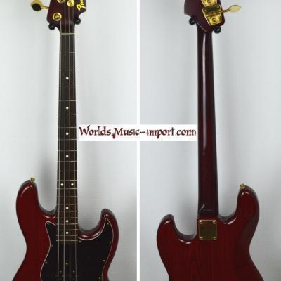 VENDUE... FENDER Jazz Bass JBG-70 MH 'Limited' 1994 MBR Japon RARE  *OCCASION*