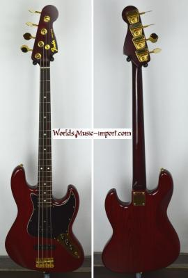 .FENDER Jazz Bass JBG-70 MH 'Limited' 1994 MBR Japon RARE  *OCCASION*
