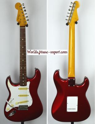 VENDUE... FENDER Stratocaster 62'-LH CAR 1989 Gaucher Japon *OCCASION*