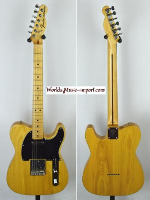 VENDUE... FENDER Telecaster 72' NAT ASH 1998 Japan *OCCASION*