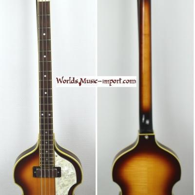 VENDUE... GRECO Violin Bass VB-500 Sunburst 1981 Beatles Japon *OCCASION*