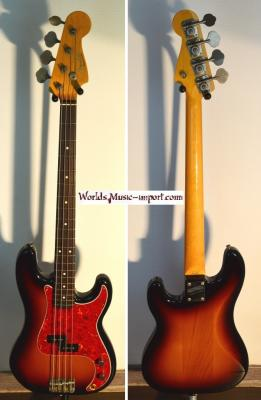 FENDER Precision Bass '62 3TS 1994 Japon Import *OCCASION*