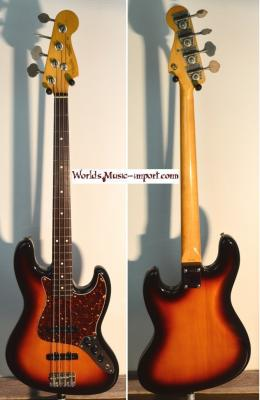 FENDER Jazz Bass 62' 3TS 1986 Post JV Japon import  *OCCASION*