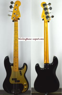 VENDUE... FENDER Precision Bass '57-US Black 2004 Japon *OCCASION*
