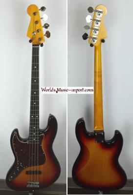 FENDER Jazz Bass '62 LH SB 2010 'Gaucher' JAPON  *OCCASION*