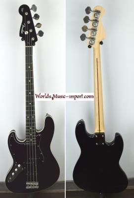 VENDUE... FENDER Jazz Bass AERODYNE AJB Deluxe LH 'Gaucher' Black 2010 Japon *OCCASION*