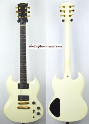 GIBSON SG Special White Gloss 1989 Ltd USA *OCCASION*