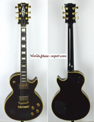 VENDUE... GRECO Les Paul Custom Black 90's Import Japon *OCCASION*
