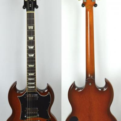 VENDUE... GIBSON SG Standard Natural Burst 'Limited Edition' 1999 USA *OCCASION*