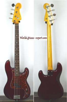 RESERVEE... FENDER Precision Bass '62 'DiMarzio Collection' Limited OCR 2004 Jap! *OCCASION*