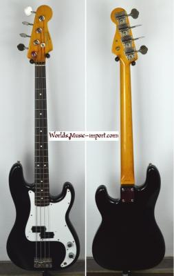 VENDUE... FENDER Precision Bass '62 BLACK 1988 Japon import *OCCASION*