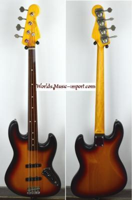 FENDER Jass Bass 62'-US FL 3TS 2009 Fretless Japon  *OCCASION*