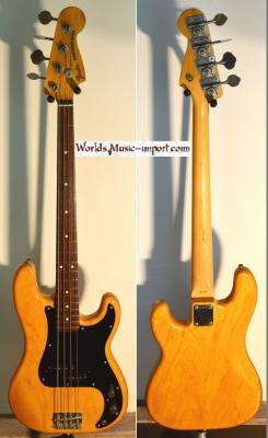 VENDUE---FENDER Precision Bass '70 ASH Nat 1986 Post JV Japon import *OCCASION*