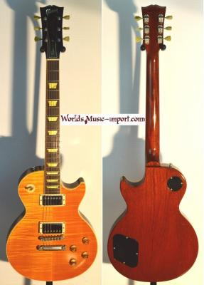 VENDUE.. GIBSON Les Paul Classic PLUS Trans Amber 2000 USA *OCCASION*